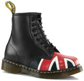 UNION JACK 8 EYE BOOT