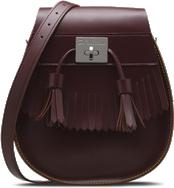 TASSLED SADDLE BAG