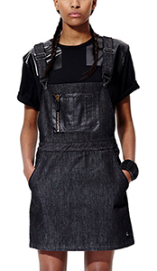 Womens  Dungarees Dress