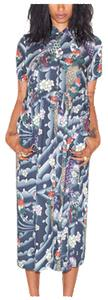 WOMEN'S HAWAIIAN LONG LINE DRESS