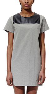 Women's Melange T-Shirt Dress