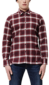 MEN'S LONGSLEEVE SHADOW CHECK SHIRT