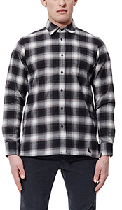 Men's LS Shadow Check Shirt