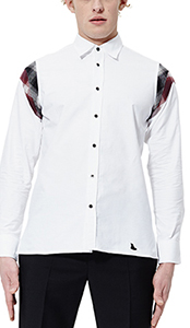 Men's LS Shoulder Panel Shirt