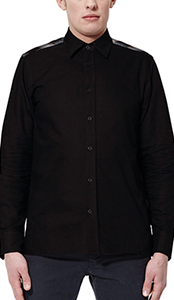 Men's LS Blocked Shadow Check Shirt