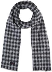 WOOL SHADOW CHECK SCARF