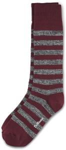 TWISTED YARN STRIPE SOCK