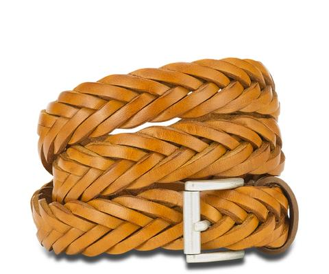 Small Plaited Belt