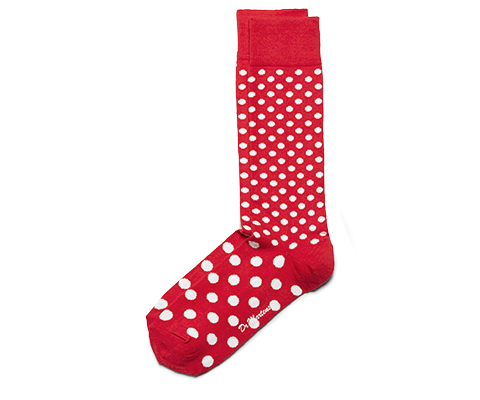 SPOTS AND DOTS SHORT SOCK