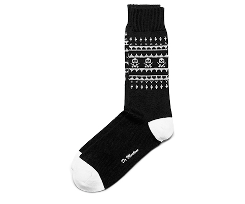 Skulls Fairisle Sock