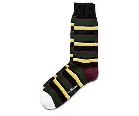 Multicolour Stripe Rugby Sock