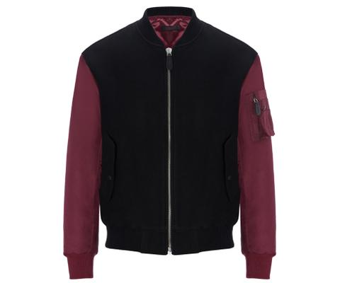 Mens Hybrid Bomber Jacket