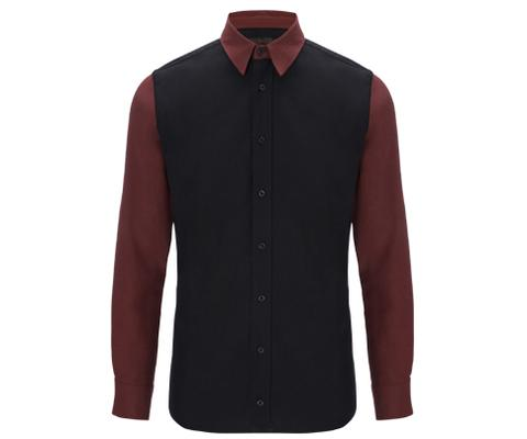 Mens LS Elongated Shirt