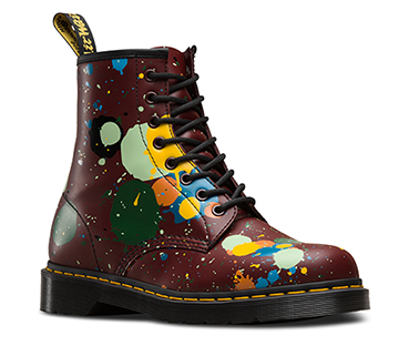 1460 Paint Splatter Boot
