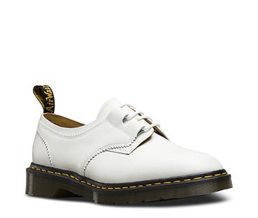 White Smooth Engineered Garments Shoe