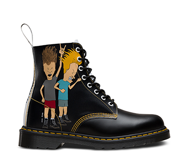 Beavis and Butt-Head White Pascal Boot