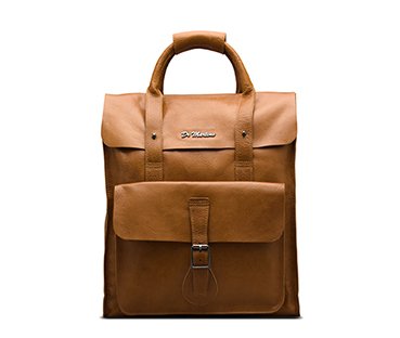 Leather Backpack TAN AB012220