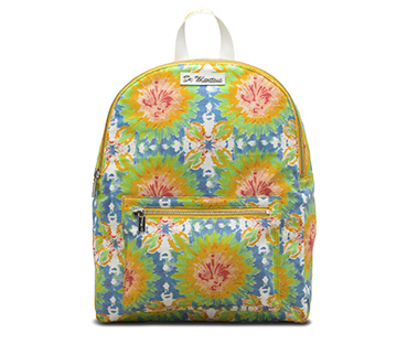 Mandala Tie Dye Canvas Backpack