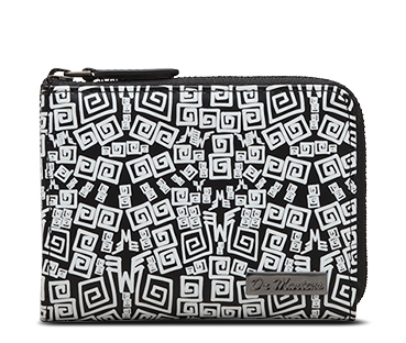 Zip Wallet WHITE URBAN AZTEC PRINT AC227007