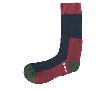 DOC'S SOCK NAVY+GREEN+OXBLOOD AC237004