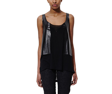 Women's Cashmere Resin Vest BLACK RESIN PRINT AC451001
