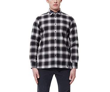 Men's LS Shadow Check Shirt GREY SHADOW CHECK AC459002