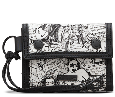 Utility Wallet PARTY PEOPLE PRINT AC470002