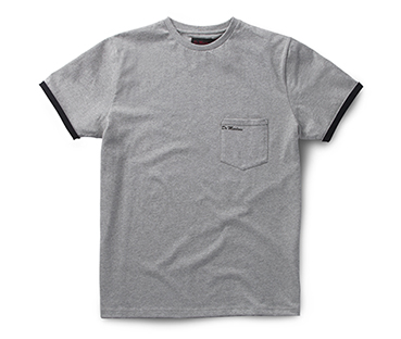 Core Pocket T-Shirt GREY AC536020