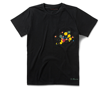 Paint Splatter Pocket T-Shirt