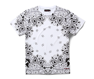Short Sleeve T-Shirt in Bandana Print