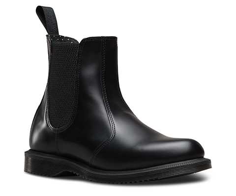 FLORA SMOOTH   Chelsea Boots   Official Dr. Martens Store
