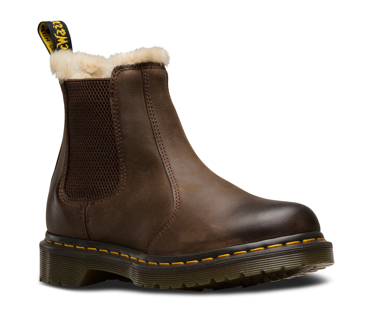 FUR LINED LEONORE WYOMING   Women\'s Boots   Official Dr. Martens Store