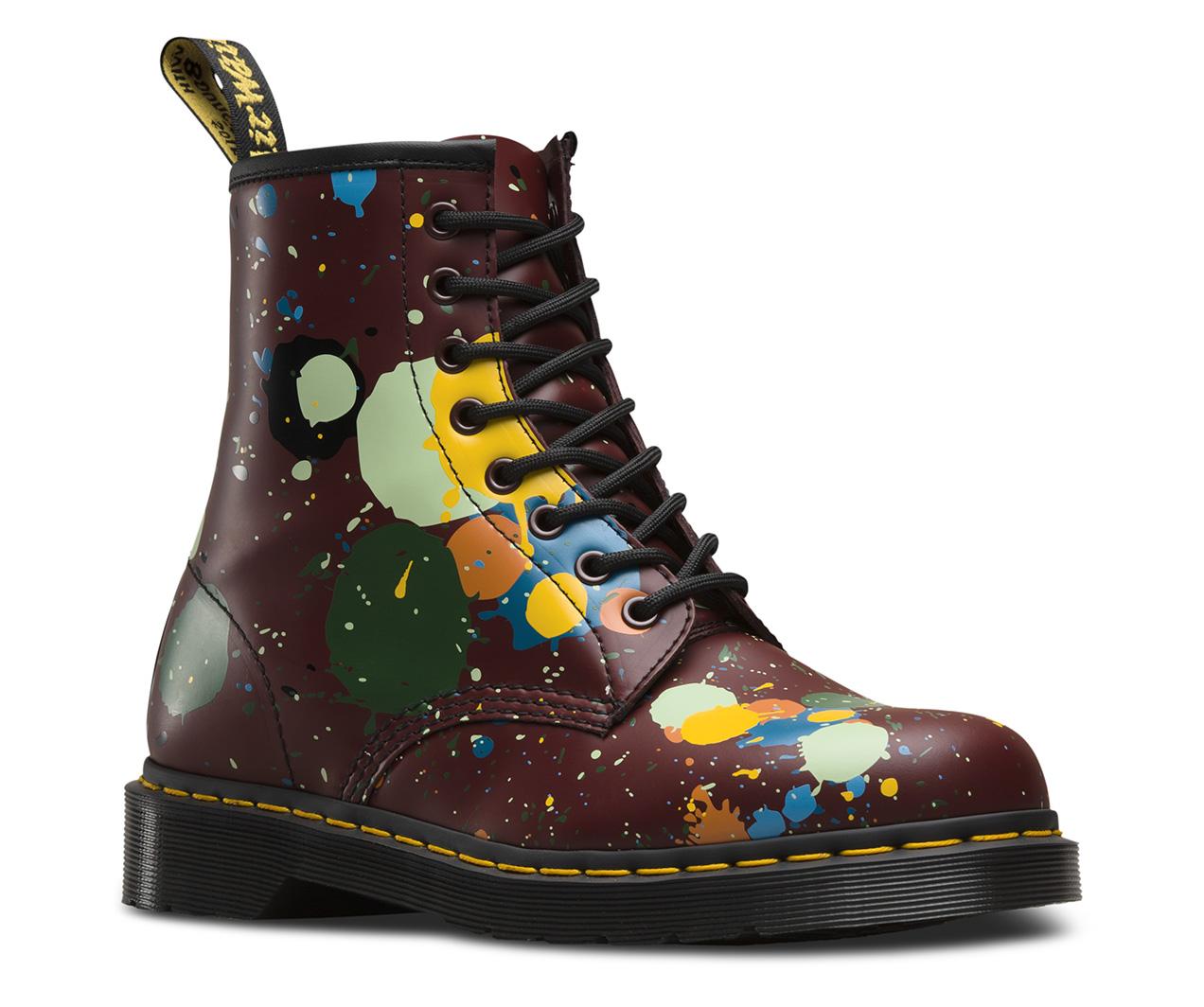 1460 Splatter Men S Boots Official Dr Martens Store