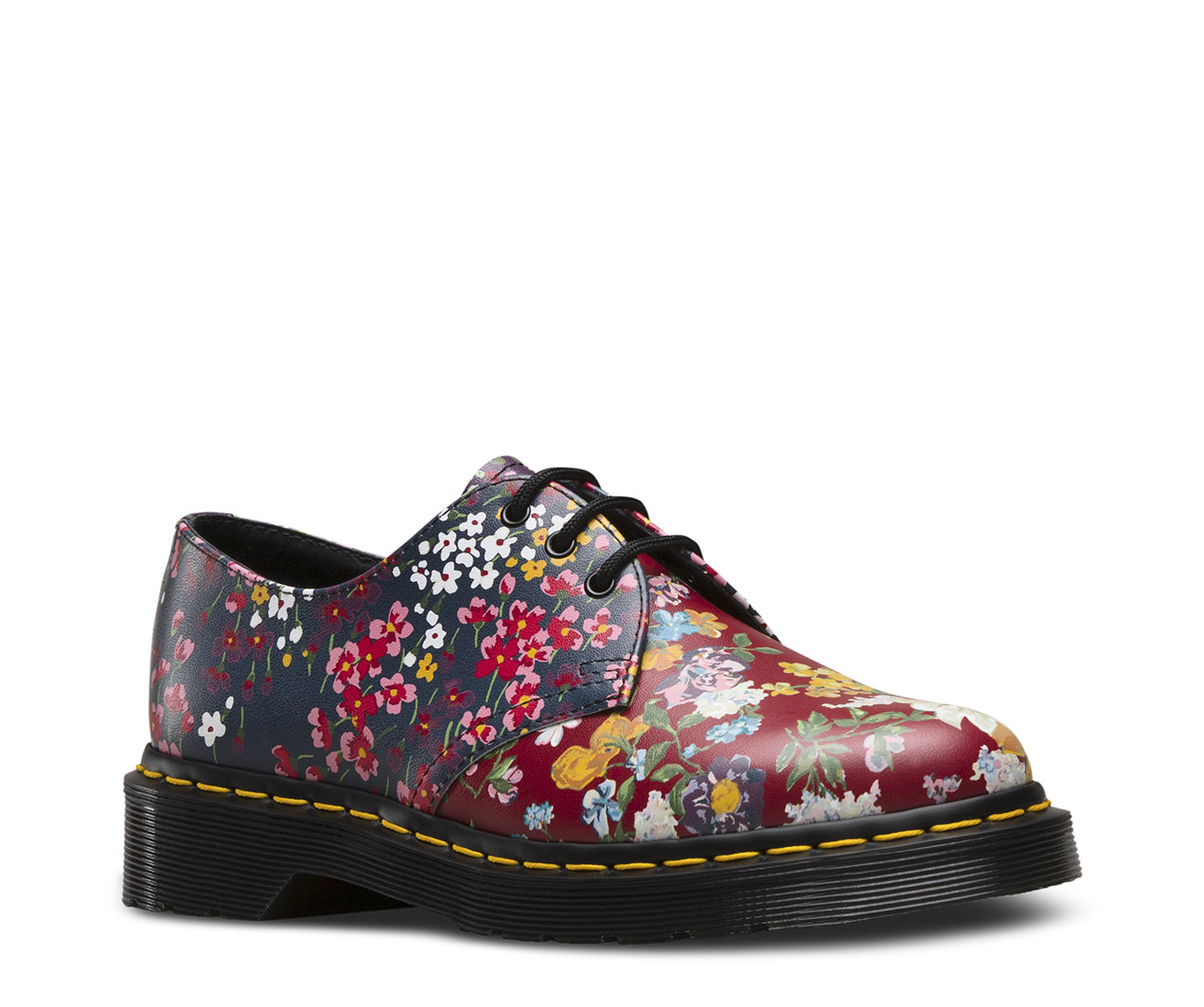 doc martens blue floral the image kid. Black Bedroom Furniture Sets. Home Design Ideas