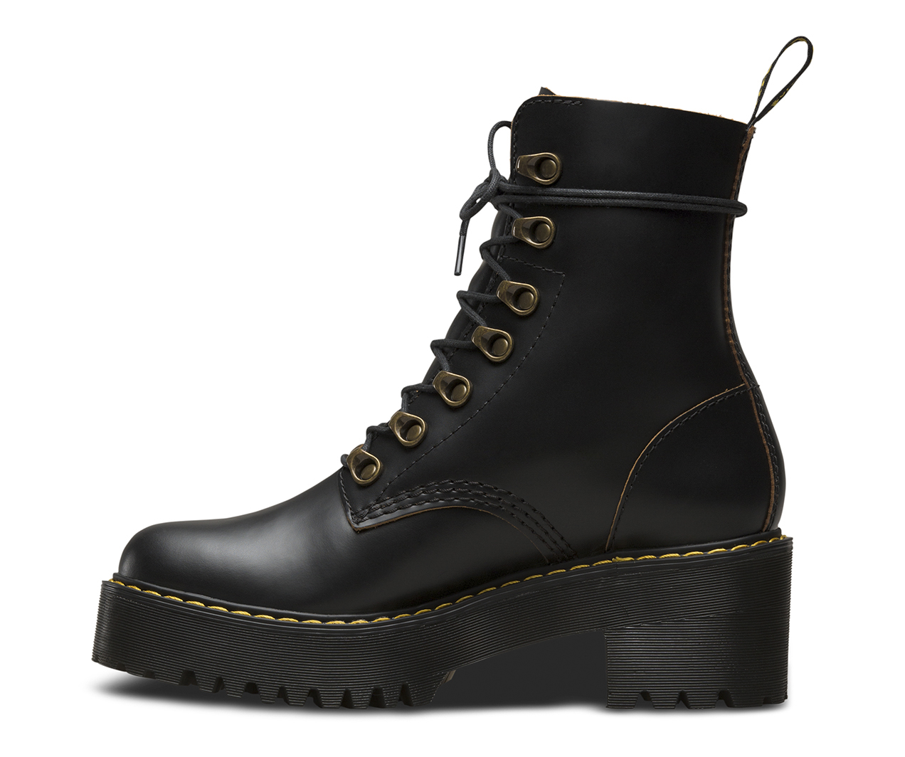 LEONA VINTAGE SMOOTH | Women's Boots | Official Dr Martens ...