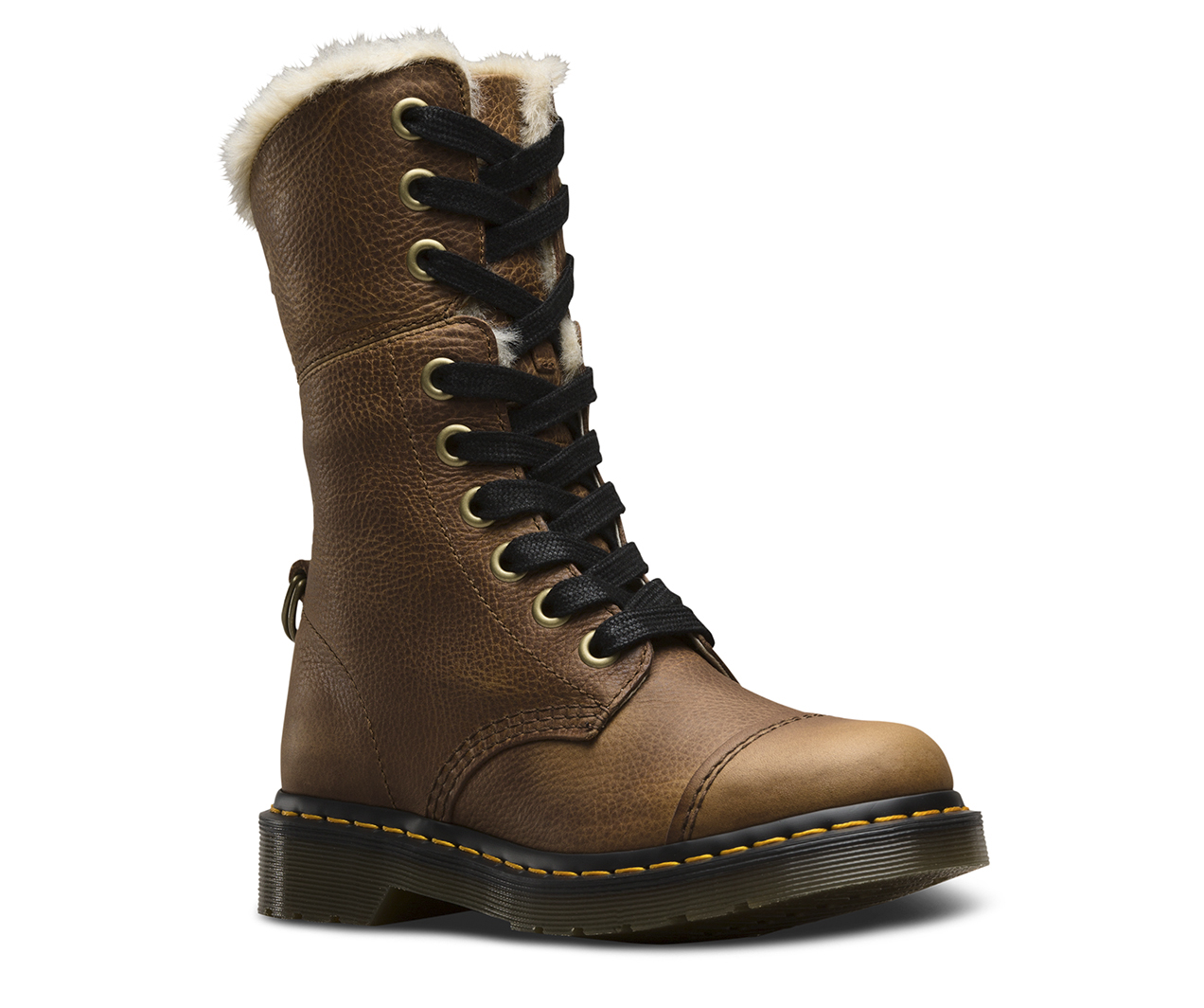 FUR LINED AIMILITA GRIZZLY | Women's Boots
