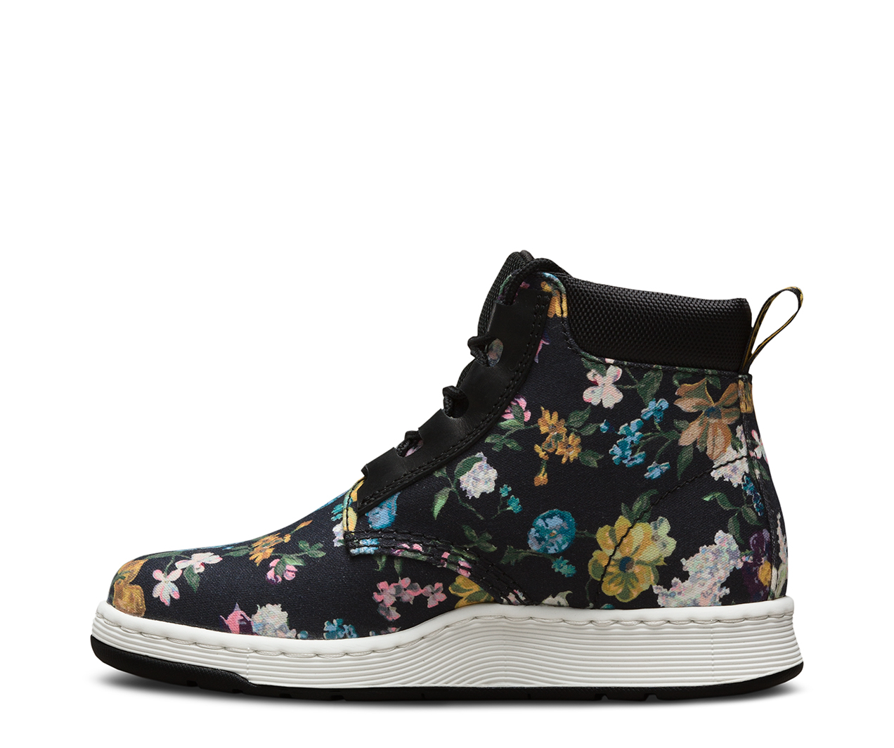 darcy floral telkes women 39 s boots shoes official dr martens store eu. Black Bedroom Furniture Sets. Home Design Ideas