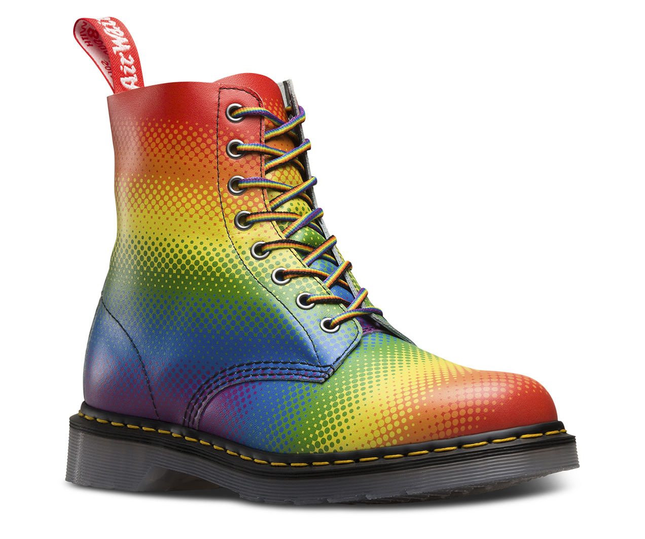 Image result for rainbow boots men