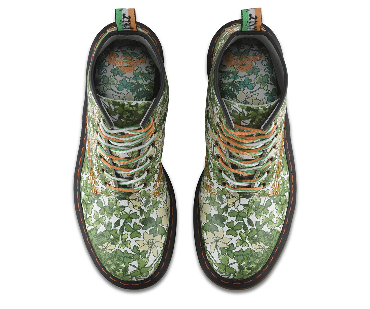 St Patrick S 1460 Green Footwear Official Dr Martens