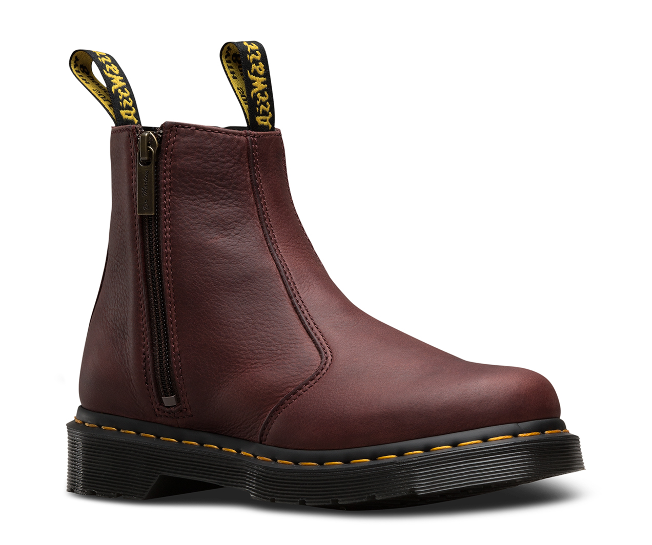 2976 w zip grizzly 2976 chelsea boots the official us dr martens store. Black Bedroom Furniture Sets. Home Design Ideas