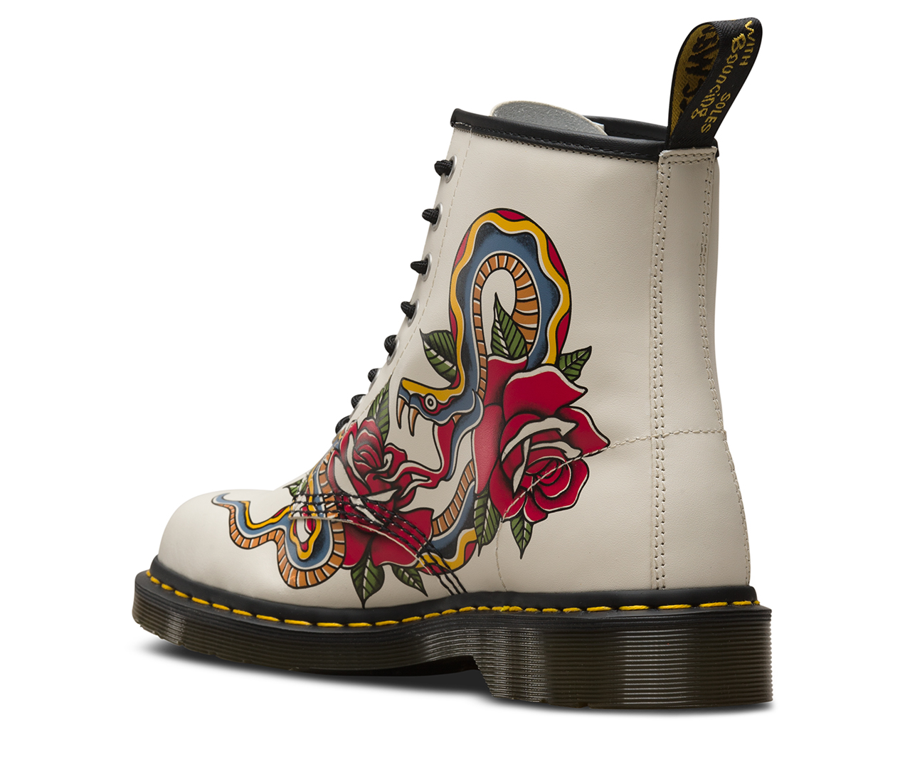 1460 Tattoo Grez Women S Boots The Official Us Dr