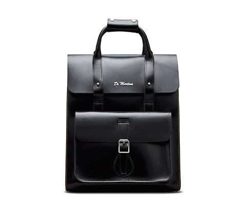 Leather Backpack BLACK AB012005