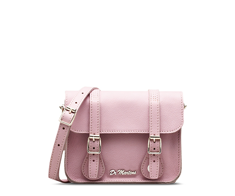 "7"" Leather Satchel BUBBLEGUM AB017105"