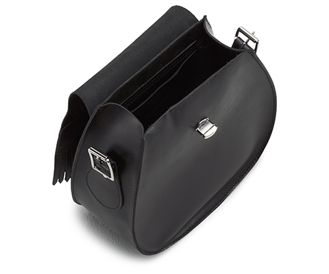 Tassled Saddle Bag BLACK AB021001