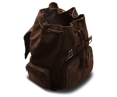 Big Slouch Suede Backpack