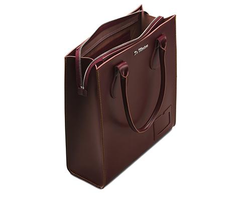 kiev leder tragetasche mit rei verschluss taschen und. Black Bedroom Furniture Sets. Home Design Ideas