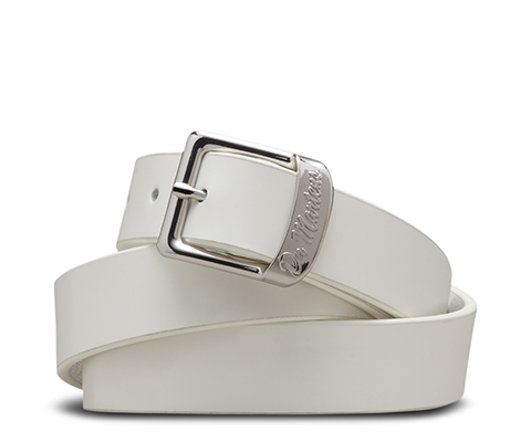Buckle Belt WHITE AC307100