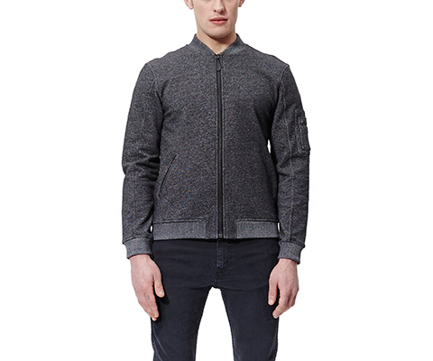 Unisex Sweat Bomber GREY MARL AC452001