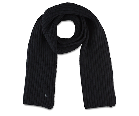 Knitted Scarf BLACK AC463001
