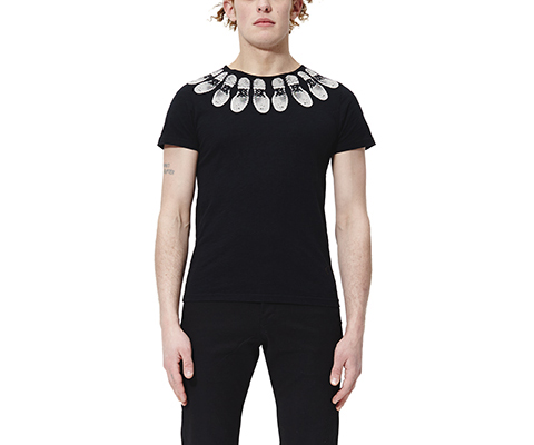 Unisex Tread T-Shirt BLACK AC477001